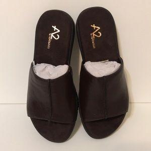 Aerosoles A2 sandals Wiplomacy Brown comfort 5 1/2